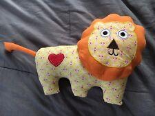 Lion Happi Tooth Fairy Animal Plush Pillow Holder Cute Stuffed Heart Pocket