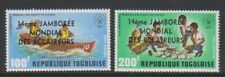 Togo - 1975, Air. World Scout Jamboree set - MNH - SG 1107/8