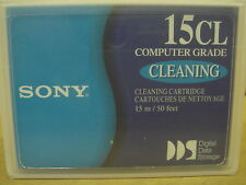 Sony DGD15CL Cleaning Tape Cartridge NEW SEALED