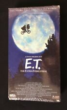 E.T. The Extra-Terrestrial MCA Home Video 1988 Black and Green Tape VHS SEALED!