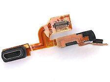 100% Nokia Lumia 925 USB porta di ricarica flessibile+mic+jack per cuffie presa