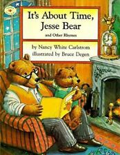 It's About Time, Jesse Bear and Other Rhymes-ExLibrary