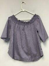 Women Blouse 7th Avenue New York And Company Size L NWT