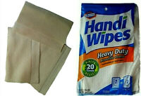 HEAVY DUTY HANDY CLOTHS  MULTIPURPOSE ABSORBENT REUSABLE CLEANING TOWELS BEIGE