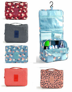Women Hanging Makeup Bag Toiletry Box Travel Case Organizer Storage Pouch Bags