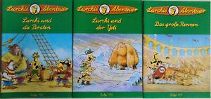 Lurchis Abenteuer 3 Hefte 155, 156, 157 , alle neuwertig