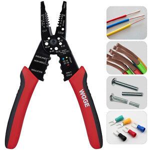WGGE WG-015 Professional crimping tool / Multi-Tool Wire Stripper/Cutter/Crimper