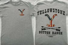 Yellowstone TV Show Dutton Ranch Americana Logo Licensed T-Shirt