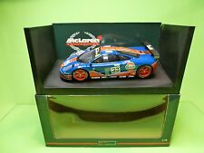 UT MODELS McLAREN F1 GTR BMW - LE MANS 1996 - GULF BLUE 1:18 -  EXCELLENT IN BOX