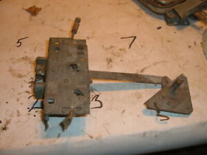 1942 THROUGH 1948 PLYMOUTH LEFT SIDE REAR DOOR LATCH AND REGULATOR