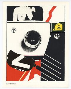 Peter Klasen original lithograph