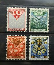 Nederland kinderzegels 1926 NVPH 199/202 ongebruikt MH