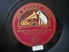 1929 Jazz 78 NAPOLEON'S EMPERORS You Can't Cheat A Cheater (Dorsey, Lang) *HEAR