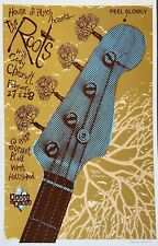 The Roots Los Angeles 2003 Poster Signed Numbered Darren Grealish Tara McPherson
