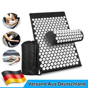 Akupressurmatte Massage Set Akupressur Akupunktur Yoga Nadelmatte Schnittschmerz