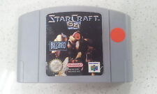 Starcraft Star Craft Nintendo 64 N64