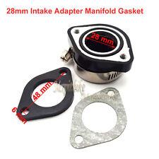 28mm Intake Adapter Manifold Gasket For VM24 PE 24 26 28 OKO Carb Pit Dirt Bike
