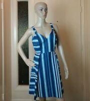 Women Mini Dress Spaghetti Strap Size 8