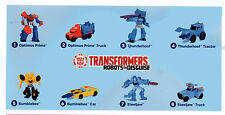 """MCDONALD'S TOYS  2016 """"TRANSFORMERS ROBOT IN DISGUISE"""""""