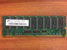 Micron MT18LSDT3272G-133B1 256MB 133MHz ECC DIMM 168-pin Memory Card