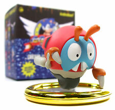 "Kidrobot x Sega SONIC THE HEDGEHOG Mini Series MOTOBUG 3"" Vinyl Figure Blind Box"