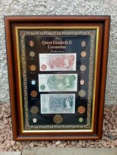 More details for pre-decimal coins and notes collection - the queen elizabeth ii coronation 1952