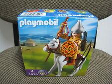 Playmobil - Huevo 4926 - Medieval Asia - Jinete Mongol Caballo - (NUEVO) OVP