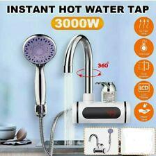 RUBINETTO Riscaldatore di Acqua Elettrico Cucina Bagno LCD Display Temperatura