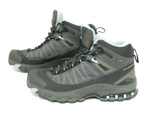 Salomon Mens Size US 6 3D Chassis Gore-Tex Boot Black Blue Contagrip Ortholite