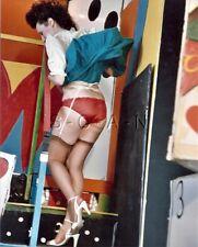 Org Amateur Semi Nude Large (8 x 10) Photo- Funhouse- Skirt- Butt- Stockings- #6