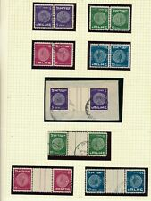 ISRAEL 1949 COINS 1st SERIES TETE BECH COMPLETE SET USED