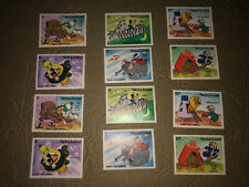 Vintage Mint Stamps 2 full sets Sierra Leone postage Walt Disney Productions