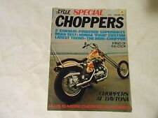 SEPTEMBER 1971 MOTORCYCLE WORLD SPECIAL CHOPERS MAGAZINE,VOL.1#2 SECOND ISSUE