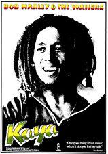 Bob Marley Poster. Wailers, Kaya.