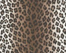 6630-23-22) 1 Rolle feine Satin Tapete edle Qualität Leopard-Design