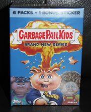 GARBAGE PAIL KIDS BNS 1 SEALED BONUS BOX 6 PKS + BONUS STICKER B6 LOOK FOR RARES