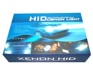 XENON AC HID CONVERSION KIT H3  8000K 300% more light on the road  uk seller