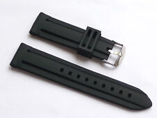 Replacement Quality Silicone Strap Lug Size 24mm For Nautica Men's