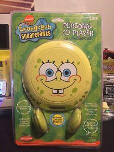 Spongebob Sealed Vintage 2003 Personal CD Player Signed By Stephen Hillenberg