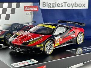 1/32 Auction 36 of 40 Used DIGITAL CARRERA FERRARI 458 Italia GT2 Ref:27511 no56