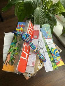 MIKA 4 Swatch - New - Milan Concert - All Paperwork