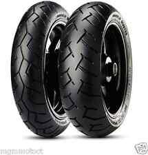 Coppia gomme pneumatici Pirelli Diablo 90/90 14 46p 100/90 14 57p