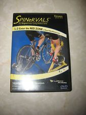 CYCLING DVD Indoor workout Spinervals Fitness 3.0 Enter the Red Zone bicycle