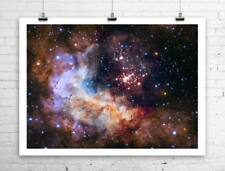 Hubble 25th Anniversary Deep Space Image Rolled Canvas Giclee Print 32x24 in.