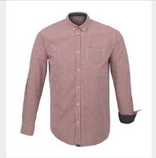 New Mens Guide London burgundy Check Shirt Size S £24.99 or best offer
