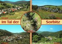 Sorbitztal  -  Döschnitz - Meura mit Kirche - Sitzendorf - Rohrbach  -  ca.1995