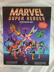 MARVEL SUPER HEROES ADVANCED SET 1986 TSR UNCUT #6871 NO RESERVE!