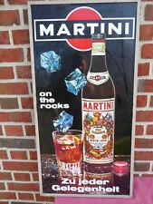 Original Martini Blechschild Reklameschild Werbung