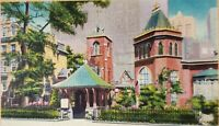 Vintage Postcard Little Church Around the Corner New York City NYC New York NY