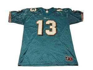 Logo Athletic Vintage Dan Marino Miami Dolphins Jersey Size Large